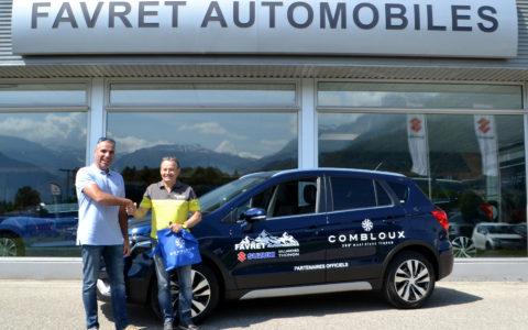 Combloux signe un partenariat avec Suzuki