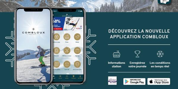 La nouvelle application mobile Combloux disponible sur les stores