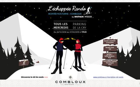 L'Échappée Rando : le nouveau rendez-vous hebdomadaire des amateurs de ski de randonnée