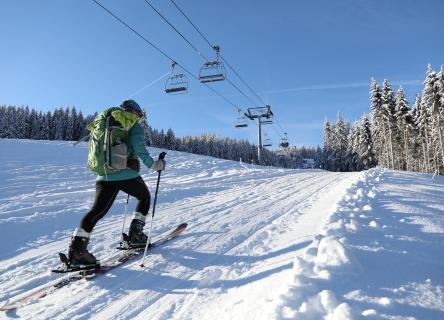 Ski de rando ©OT Combloux