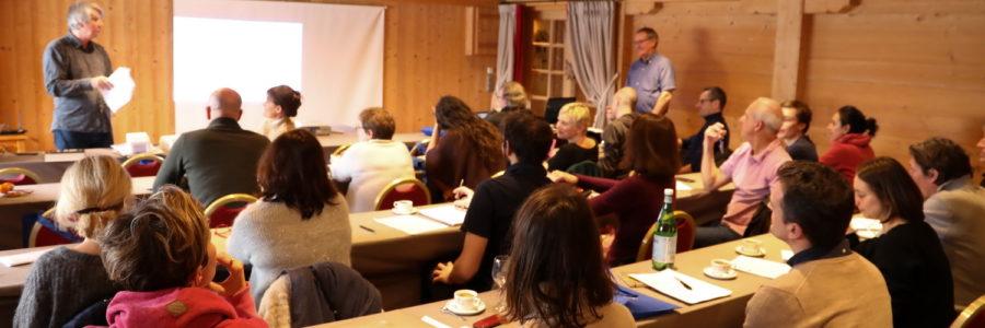 Des journalistes des principaux médias français à Combloux pour parler climat et énergie