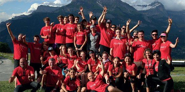 Champions du ski français et skieurs espoirs s'affrontent lors du défi Terrésens