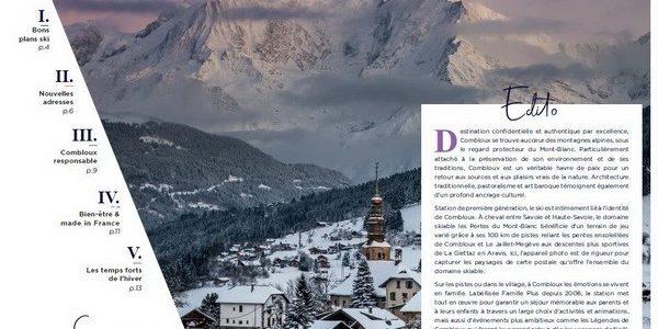 Nouveautés et bons plans station à découvrir dans le dossier de presse hiver 2019/2020