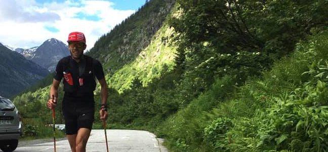 En terminant le Tour du Pays du Mont-Blanc en 27h15, Jérémie Marin établit un nouveau record