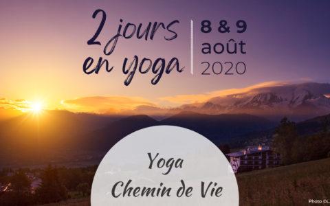 Un week-end dédié au yoga et au bien-être