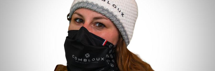 L'une des premières stations à proposer un masque barrière conçu pour l'outdoor