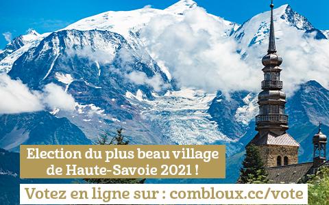 Combloux en compétition pour Mon Beau Village 2021